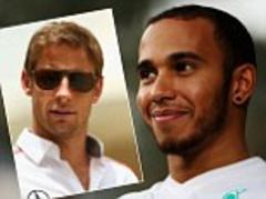 bahrain grand prix 2013: lewis hamilton 37 points clear of jenson button - phil duncan